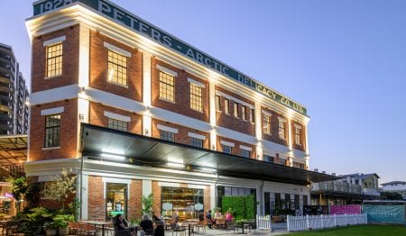 Take A Look At The First Restaurant To Open In The Historic Peters Ice Cream Factory · Beirut Bazaar