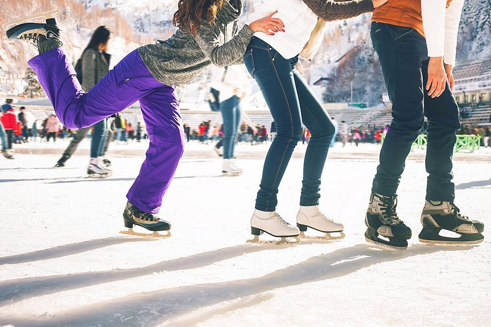 You Can Watch Snow Fall, Dine In An Igloo And Ice Skate At The Winter Village In Brisbane