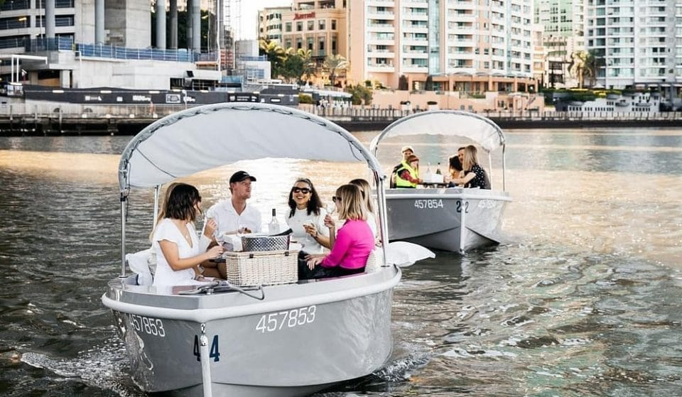 Skipper You And Your Mates Down The Brisbane River On These Electric Boats
