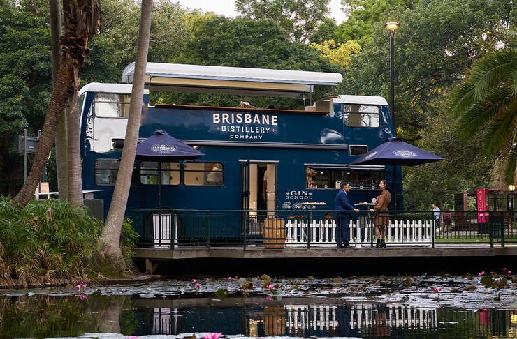 Brisbane Distillery's Double-Decker Gin Bus Rolls Into Action This Mother's Day
