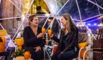 Enjoy Veuve Clicquot Champagne And Canapes In Brisbane's Snow Igloo Bar