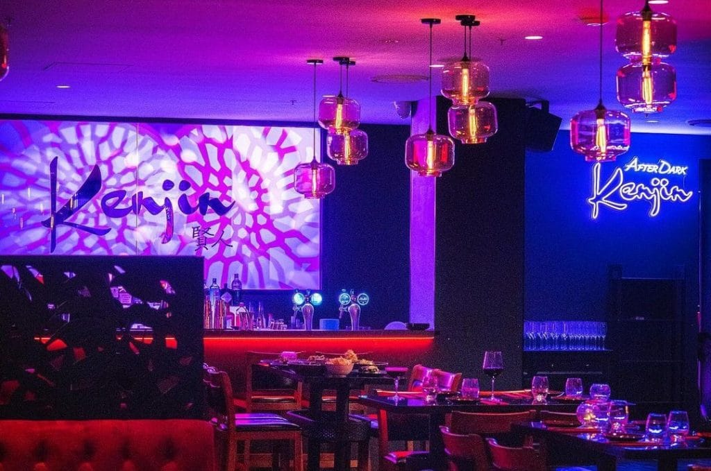 Take Your Dancing Shoes To This Japanese Restaurant Because There's A Nightclub Out Back · Kenjin
