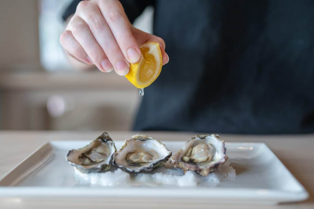 There Is An Oyster Frenzy Happening In August · One Fish Two Fish