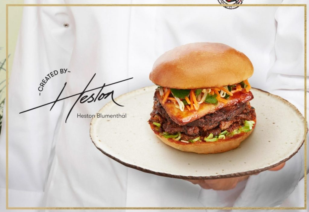 Heston And Grill'd Have Teamed Up To Create A Limited-Edition, Plant-Based Burger