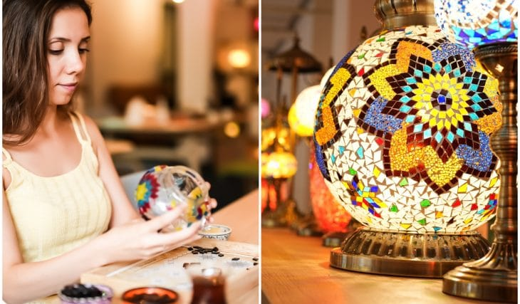Get Crafty With A Centuries-Old Tradition And Create A Turkish Mosaic Lamp At This Workshop