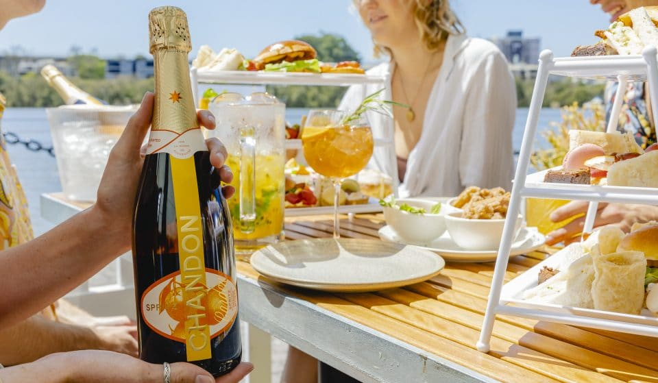 It's Springtime And A Chandon Garden Is Now Blooming By The River · Riverbar & Kitchen