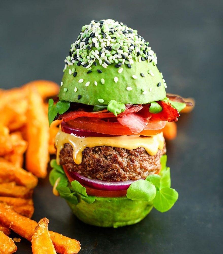 avocado show burger