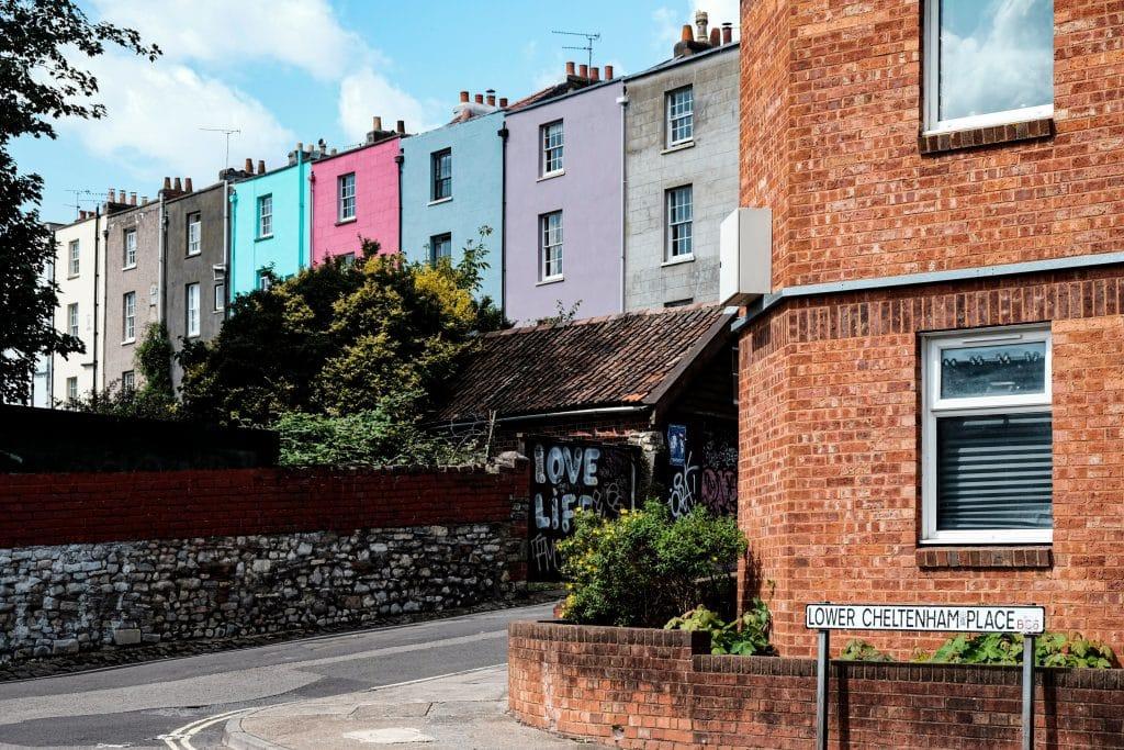 bristol colourful house prettiest streets