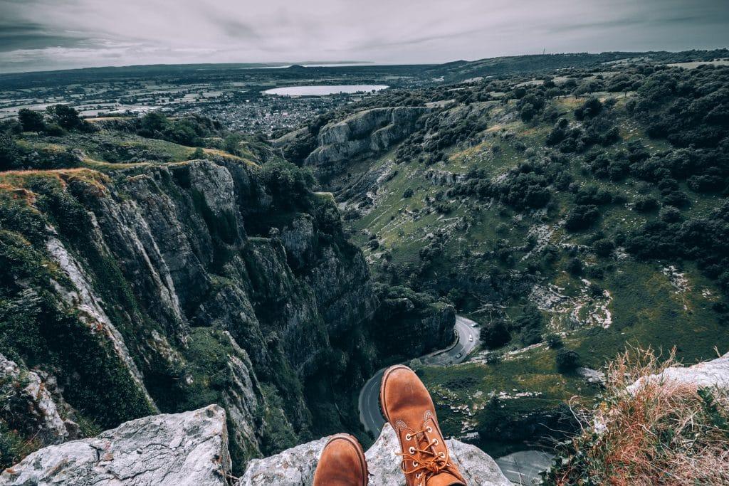 cheddar gorge cliffs bristol somerset