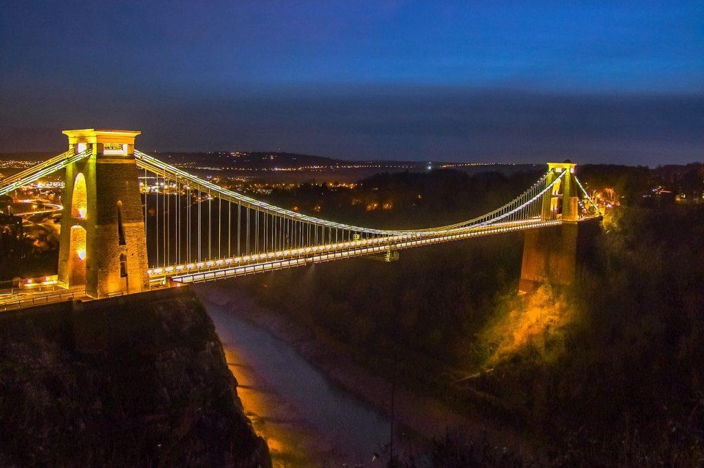 bristol suspension bridge christmas lights
