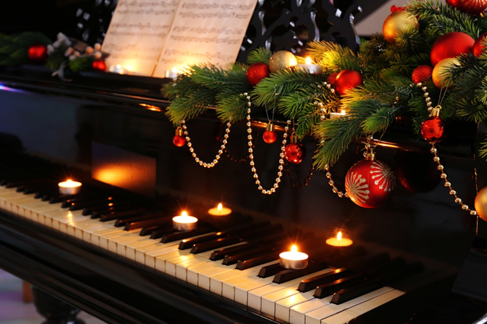 christmas candelight concert piano