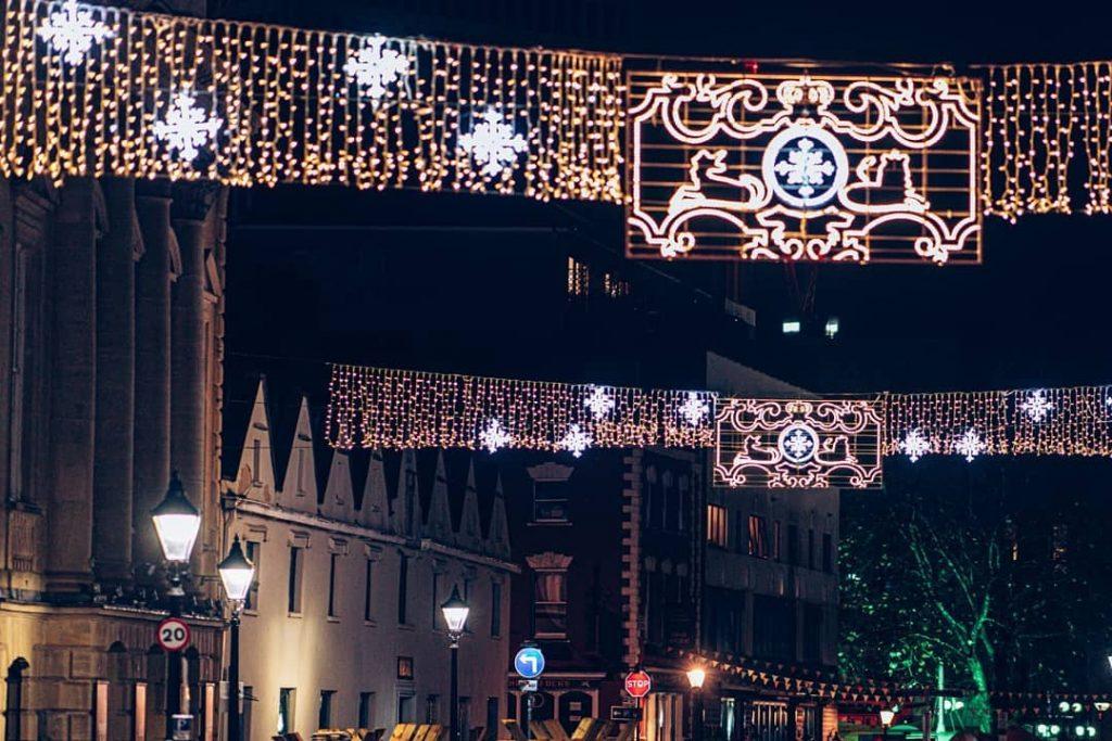 bristol christmas light displays bristol city centre bid