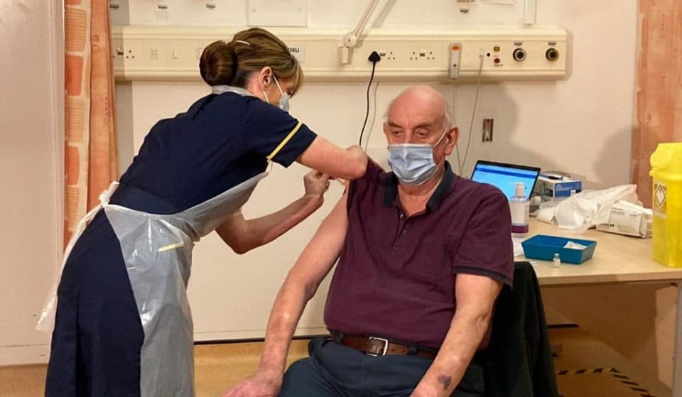 82-Year-Old Brian Pinker Is The First Person In The World To Receive The Oxford Covid-19 Vaccine