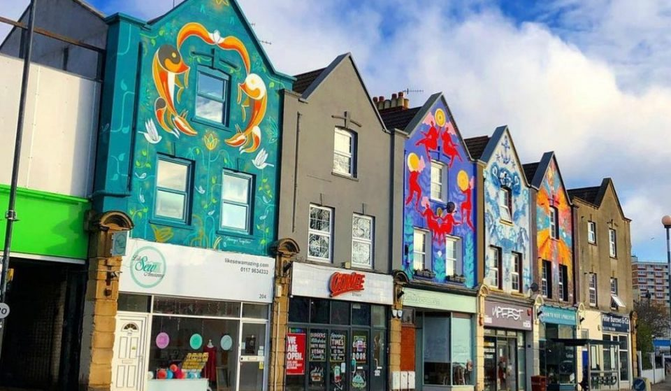 These Bristol Murals Will Become The Largest Street Art Project In The UK Completed By Female Artists
