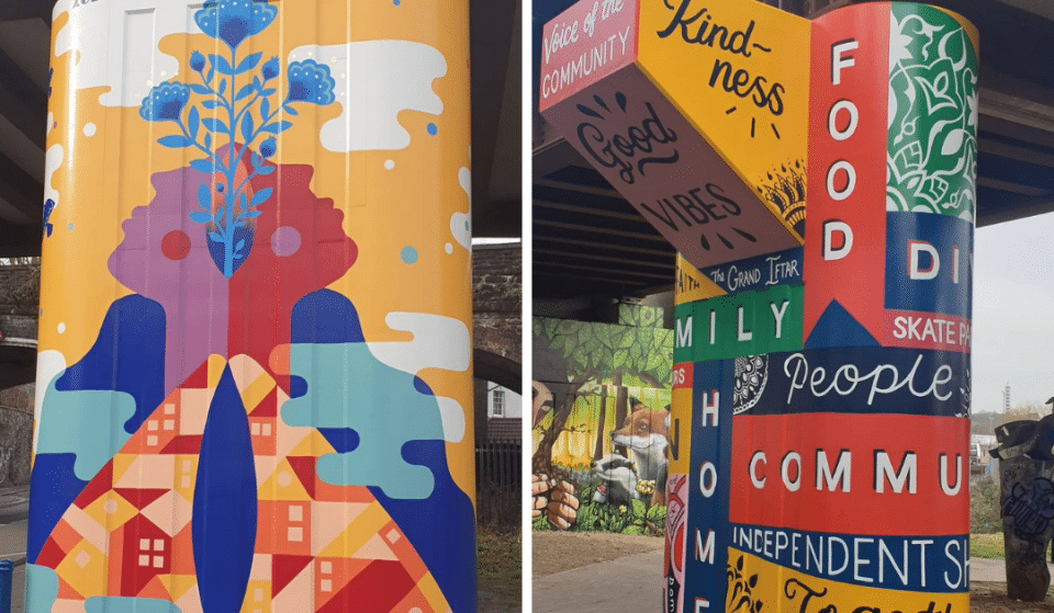 Five Stunning Pieces Of Street Art Have Been Painted Underneath This Bristol Viaduct