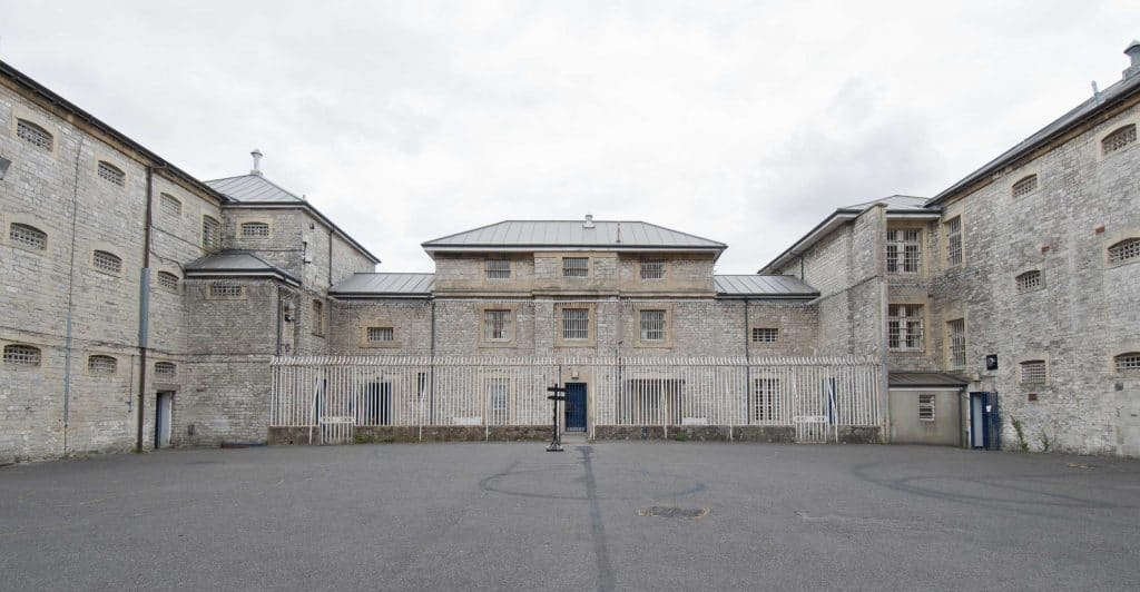 shepton mallet prison exterior