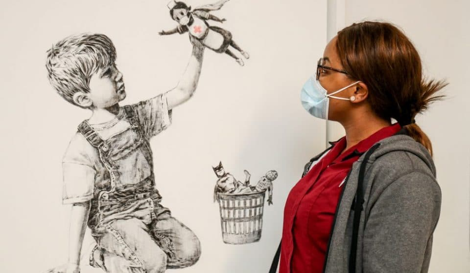 Banksy's 'Superhero Nurse' Painting Has Raised Almost £15 Million For The NHS