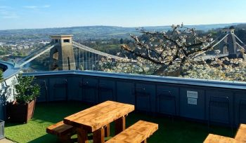 Clifton Observatory Has Now Opened Their Rooftop Terrace, And It's Pretty Magical