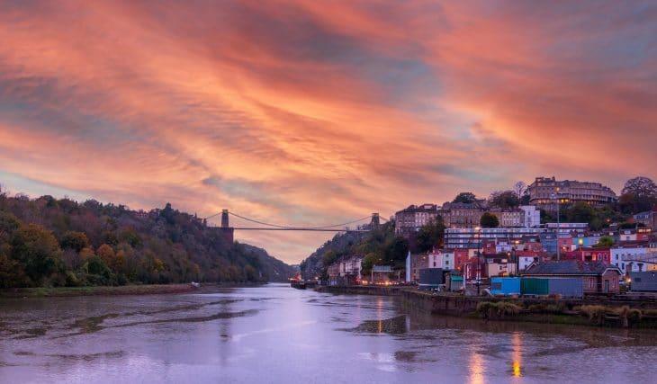 Tonight Will Be Bristol's Last 7pm Sunset Until March 2022