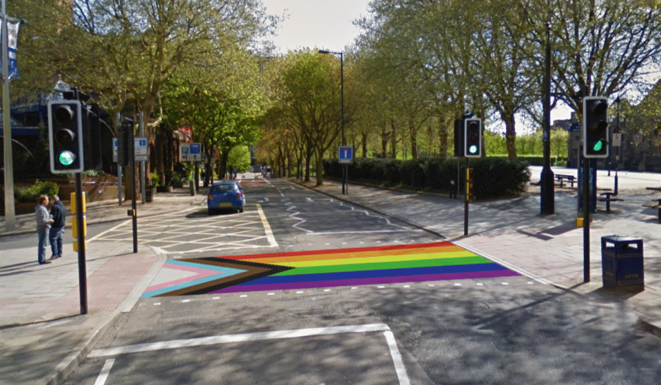 Bristol's First Rainbow Crossing To Celebrate Pride In The City Has Arrived
