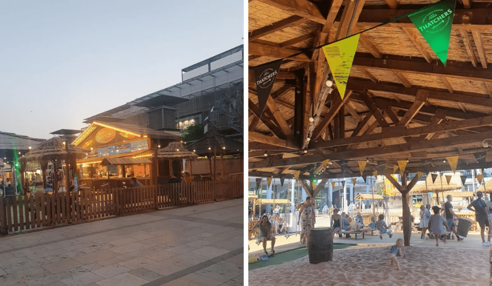 This Beach Bar Has Opened In Bristol, And It's The Perfect Summer Hideout