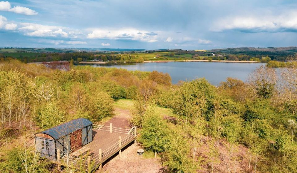 You Can Now Stay Off-Grid At This Somerset Lakeside Retreat With Tipis And A Hot Tub