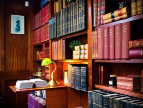 This Cocktail Bar In Bristol Is Secretly Hidden Behind An Antique Bookshop • The Library