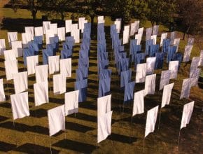 An Art Installation Made From Hospital Bed Sheets And In Tribute To The NHS Is Coming To Bristol