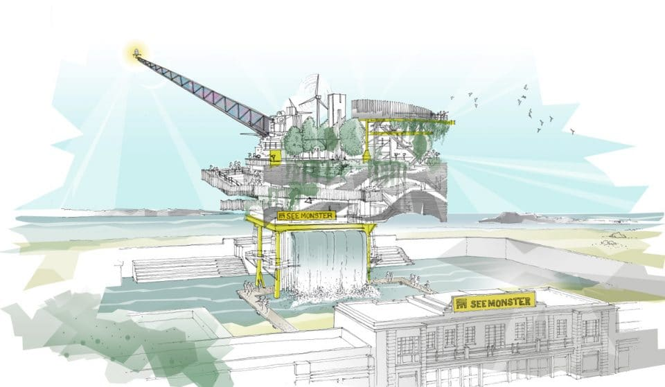 A Public Art Installation On Board An Offshore Platform Is Heading To The South West Next Year
