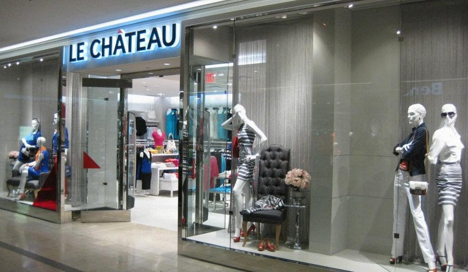 Le Château Is Closing Its Doors After Over 60 Years In Canada