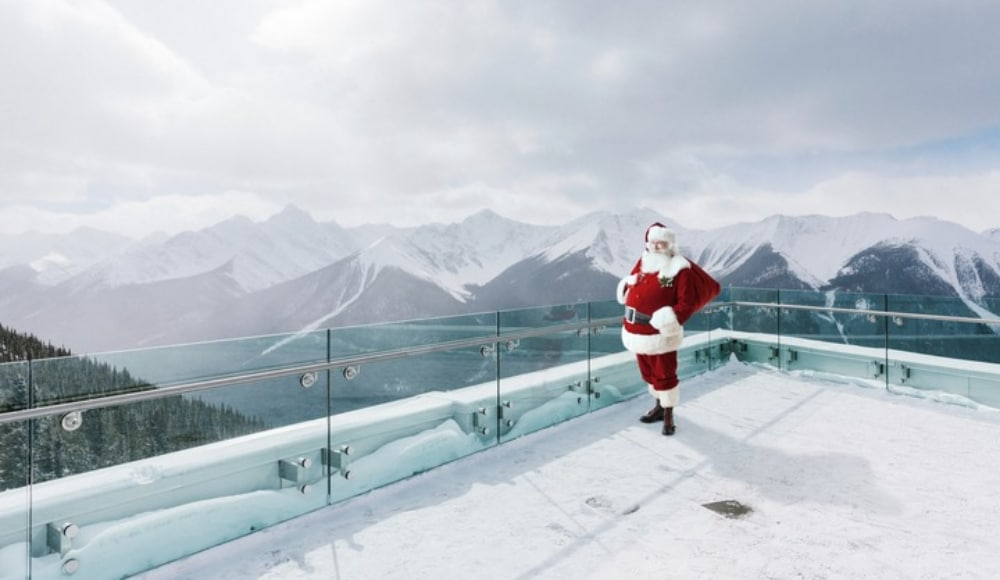 You Can Celebrate Christmas At The Top Of Banff's Sulphur Mountain Starting Next Week