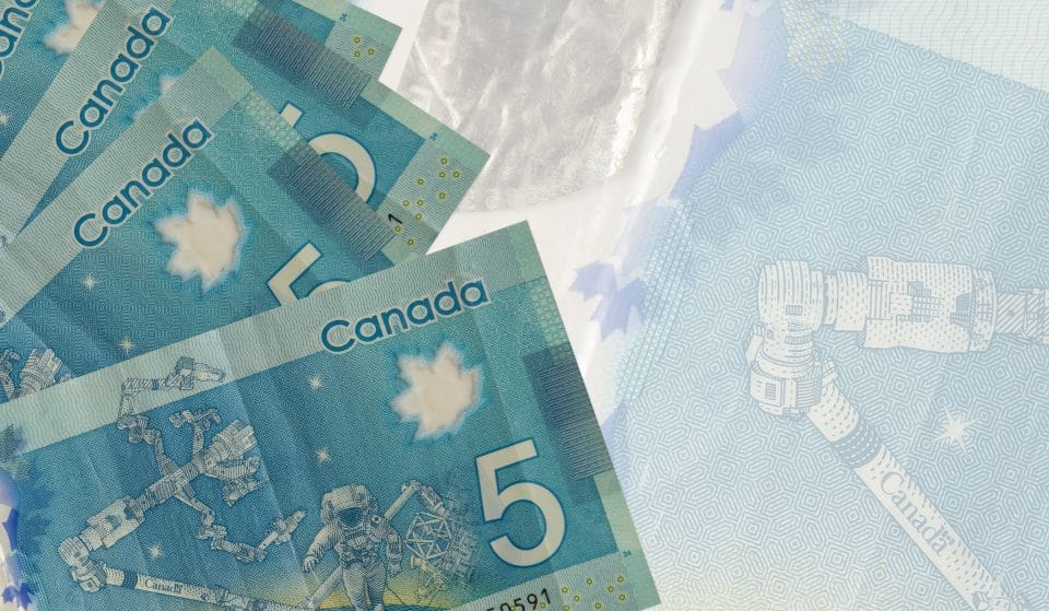 Bank Of Canada To Release The Country's First Vertical $5 Bill