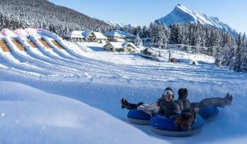 Alberta's Largest Snow Tube Park Is Opening Mid-December At Mount Norquay