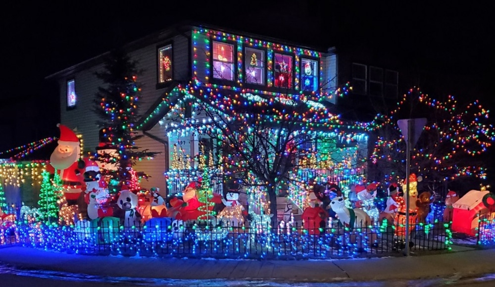 There's An Online Map That Locates The Best Residential Christmas Light Displays In Calgary