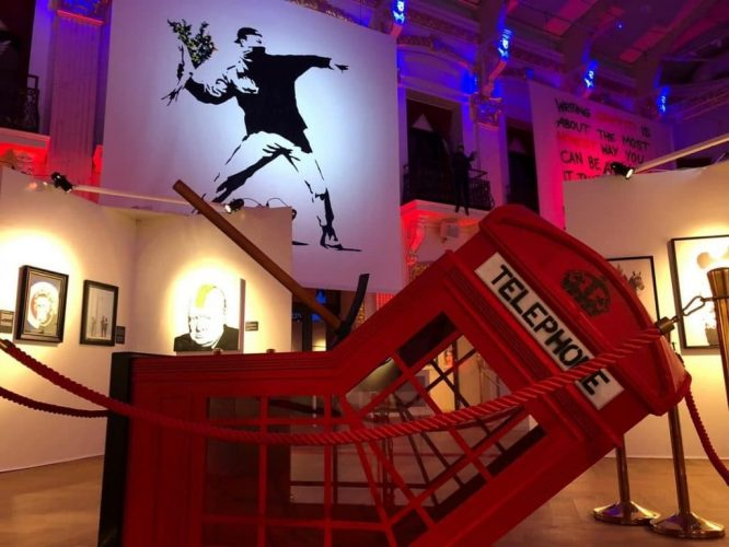 An Epic Banksy Street Art Exhibit Is Coming To Charlotte