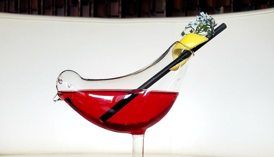 This Is Your Last Chance To Enjoy Warhol-Inspired Cocktails Served In Bird-Shaped Glasses