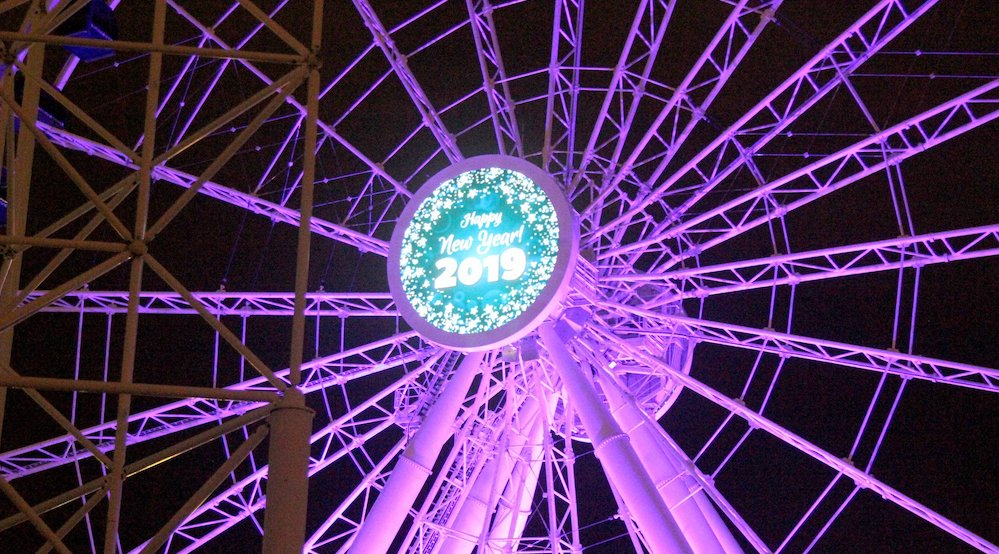 Get On TV At This Popular New Year's Eve Party At Navy Pier • Crystal Gardens NYE Party