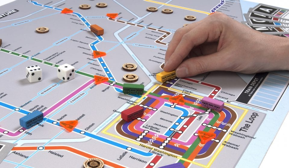 This CTA-Themed Board Game Transforms Transit Peeves Into Fun Tabletop Obstacles