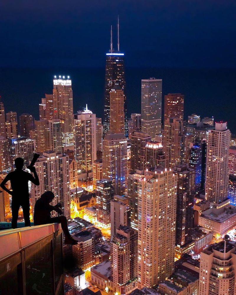 Chicago Skyline Urban Explorers