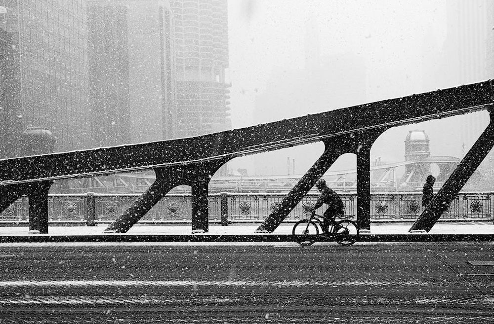 Absolutely Stunning Photos From Chicago's First Snow Of The Season