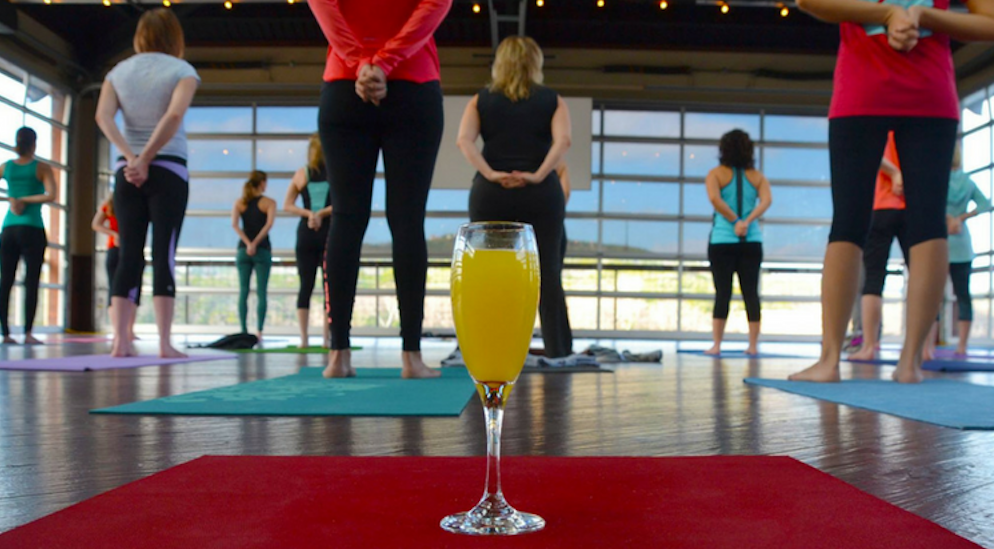 Detox And Then Retox Again At This Yoga & Mimosas Class In Lincoln Park