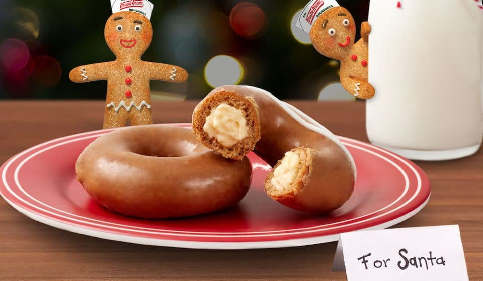 Next Week Is Your Last Chance To Enjoy These Gingerbread Doughnuts Filled With Cheesecake