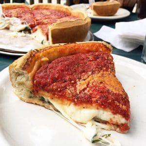 stuffed crust chicago pizza