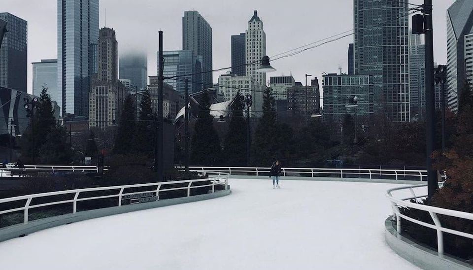 Maggie Daley Park's Ice Ribbon Is The Perfect Afternoon Winter Activity