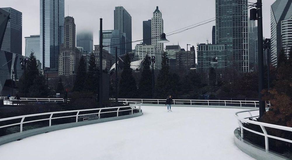 ice skating ribbon