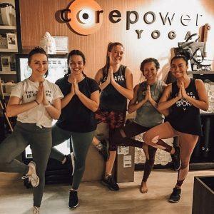 yoga class corepower