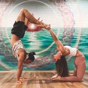 yoga class cool