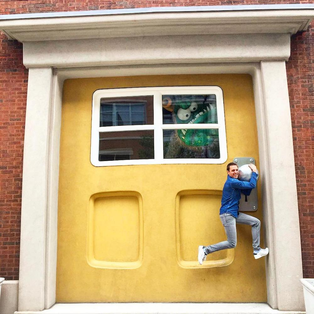 Here's What Lies Behind That Big Yellow Door You Keep Seeing On Instagram • Big Monster Toys