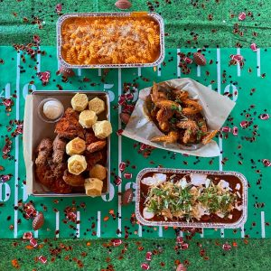 Super bowl catering chicken