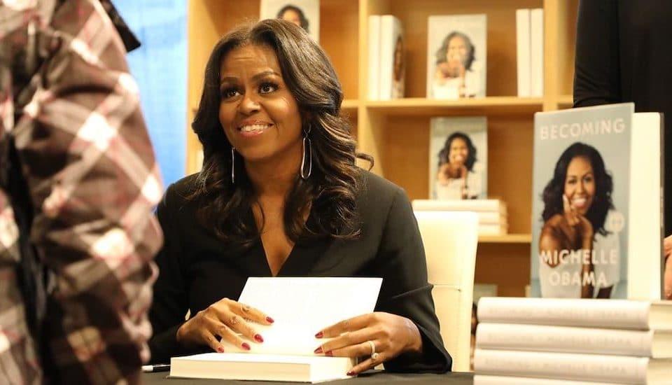 Michelle Obama's Memoir 'Becoming' Won A Grammy For 'Best Spoken Word Album'